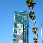 Giant Easter Bunny Rise Guardians billboard Sunset Vine