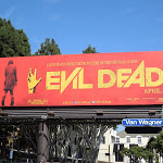 Evil Dead 2013 movie billboard