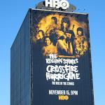 Rolling Stones Crossfire Hurricane giant billboard