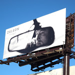 DeLeon Tequila rear view mirror billboard