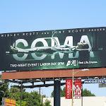 Coma TV mini series billboard