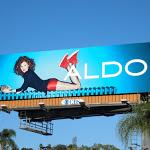 Aldo Shoes red hotpants billboard FW 2012