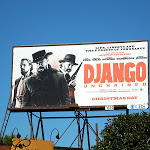 Django Unchained movie billboard
