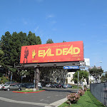 Evil Dead 2013 remake billboard