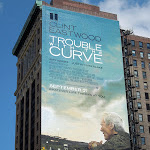 Giant Trouble with Curve movie billboard NYC