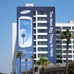 Samsung Galaxy SIII billboard Sunset Boulevard