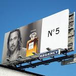 Brad Pitt Inevitable Chanel No 5 billboard