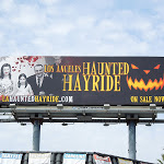 Los Angeles Haunted Hayride billboard 2012