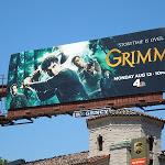 Grimm season 2 TV billboard