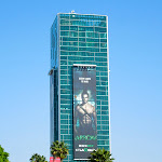 Stephen Amell Arrow billboard Hollywood