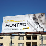 Hunted series premiere billboard