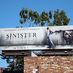 Sinister film billboard