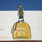 Patron Tequila Varvatos bottle stopper billboard