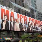 Giant Major Crimes season 1 billboard NYC
