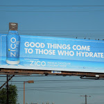Zico Hydrate special extension billboard