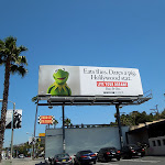 Kermit Frog Live your dreams billboard