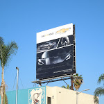 Chevrolet Corvette Stingray New Roads billboard