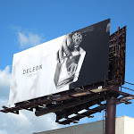 DeLeon Tequila bottle billboard