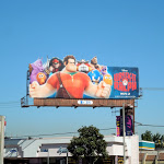 Wreck-It Ralph movie billboard