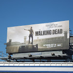 Walking Dead season 3 abc billboard