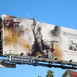 Assassins Creed III video game billboard