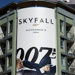 Skyfall 007 movie billboard