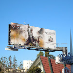 Assassins Creed 3 video game billboard