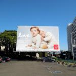 Baby Gap Love billboard