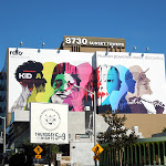 Giant Rdio billboard Sunset Strip