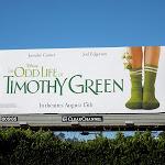 Odd Life Timothy Green billboard