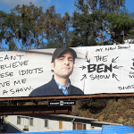 Ben Show Comedy Central billboard