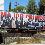 Major Crimes series premiere billboard