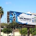 Disney Epic Mickey 2 game billboard