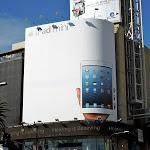 Giant iPad mini billboard Hollywood Highland