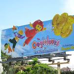 Oogieloves Big Balloon Adventure special extension billboard
