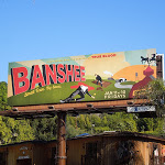 Banshee TV billboard