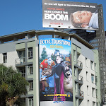 Hotel Transylvania movie billboard Hollywood