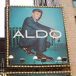 Aldo Shoes Benjamin Eidem billboard NYC