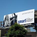 Smart Water travels well billboard