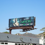 Arrow season 1 CW billboard