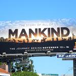 Mankind History Channel billboard