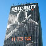 Giant Call of Duty Black Ops II billboard