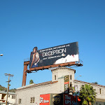 Deception series premiere billboard