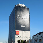 Giant Game of Thrones season 3 teaser billboard Sunset Strip
