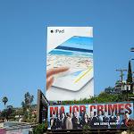 Giant Apple iPad 3 billboard