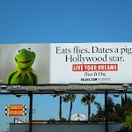 Kermit Frog Hollywood Star billboard